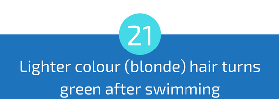 hairs turns green after swimming in pool troubleshooting pools guide 25 most common pool water problems