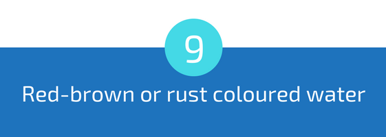 red brown or rust coloured colored water troubleshooting pools guide 25 most common pool water problems