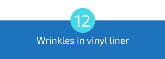 wrinkles in vinyl pool liner troubleshooting pools guide 25 most common pool water problems