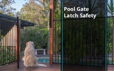 Pool Gate Latch Safety