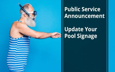 Public Service Announcement: Update Your Pool Signage